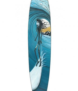 Blu Cove Longboard Decal